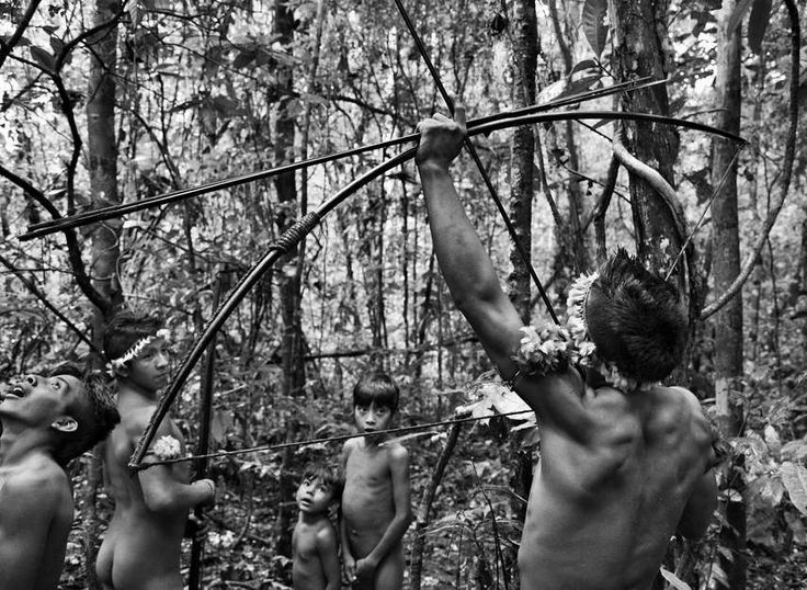A picture taken by Sebastiao Salgado of an Amazonian tribe which seems the vivid depiction of Adan and Eve in paradise. Drugs have been used since the beginning of times, the effects of LSD are much alike those of Peyote a spineless cactus found in North America, Amanita muscaria a mushroom found in Siberia or Ayahuasca a plant which grows in Amazonia. Those substances have been used by shamans to perform religious rituals, which can be described as spiritual awakenings, for years.