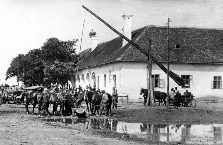 Hídivásár a Hortobágyi Csárdánál 1928