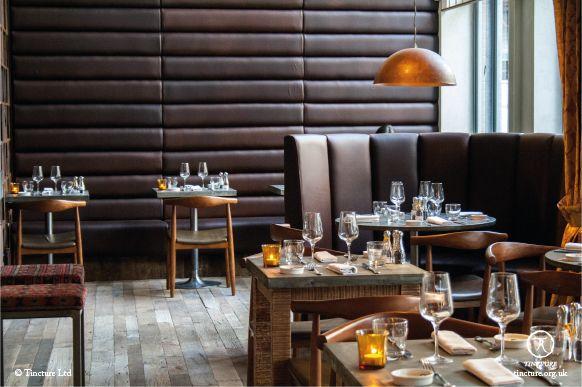 Rabot 1745, restaurant interior, 2013 (photo by Tincture Ltd)
