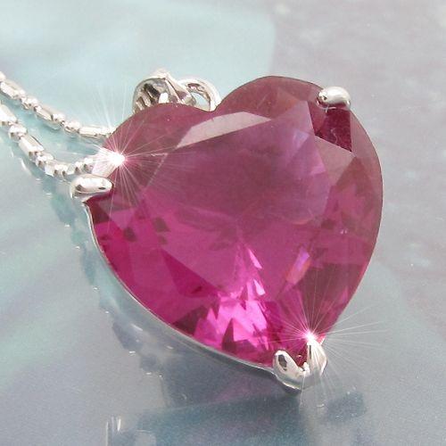 Pandantiv inima placat cu aur alb 18k curubin roz
