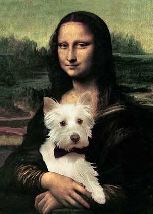 Ella también tiene mascota! :)