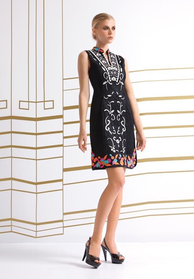 Vestido kurta bordado colores http://www.nizaonline.com/es/primavera-verano-2013/mujer/vestidos/#{%22product%22:%22288%22}