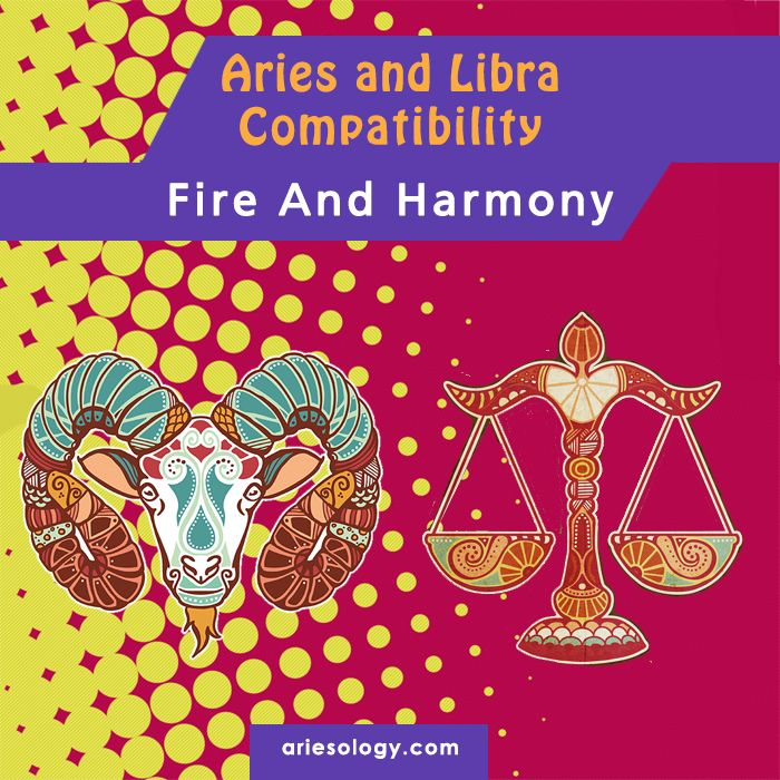 Aries and Libra can create quite a beneficial romantic relationship, one that can continuously grow. The Aries and Libra romances are based on Fire and Air, respectively the elements of Aries and Libra.