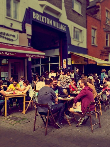 Will always be my ultimate fave - Brixton Village   Brixton on the Victoria line - pop up restaurants BYO