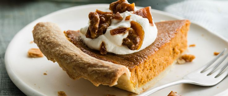 Curtis Stone | Homemade Pumpkin Pie with Caramelized Walnuts