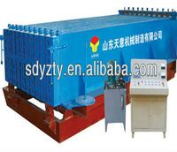 Lightweight building material wall panel making machine