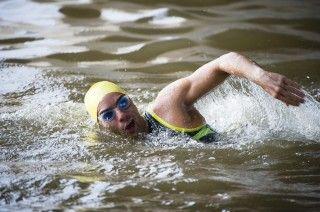 4 swim sets for 70.3 training