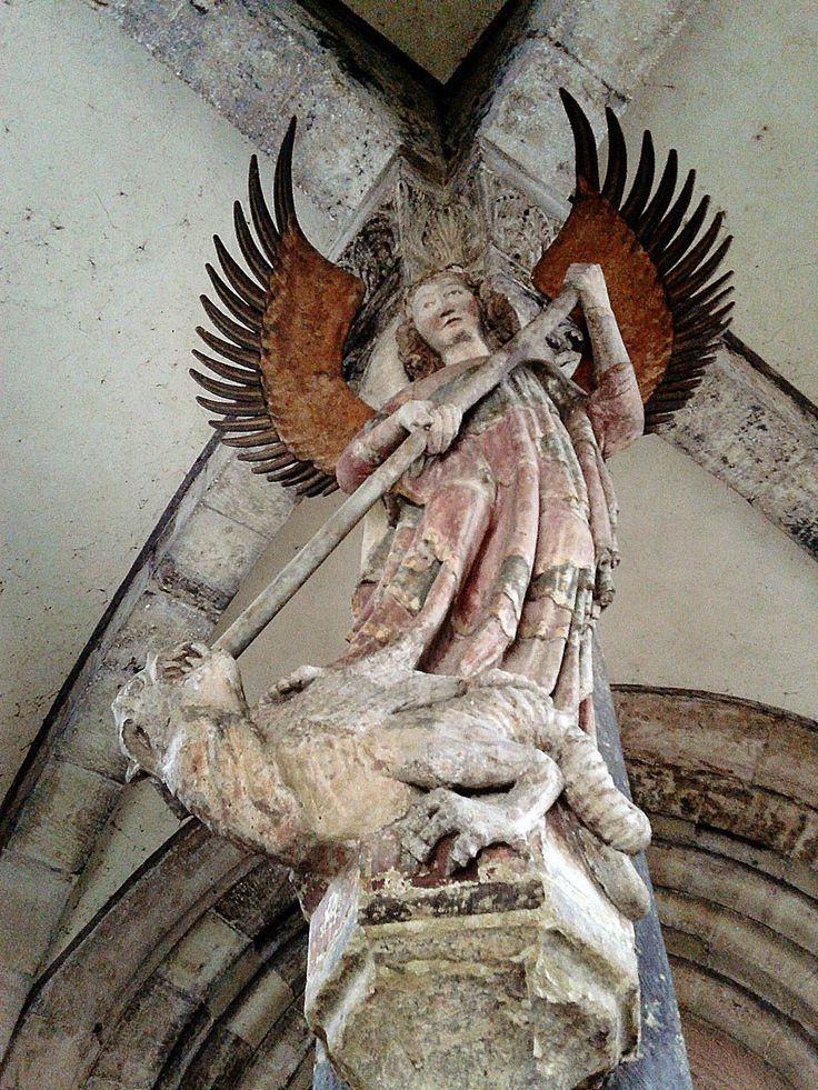 A Szent Mihály-oszlop Schwabisch Hall