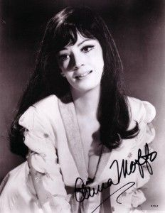 Anna Moffo (1932 - 2006) was an Italian-American soprano and one of the leading lyric-coloratura sopranos of her generation