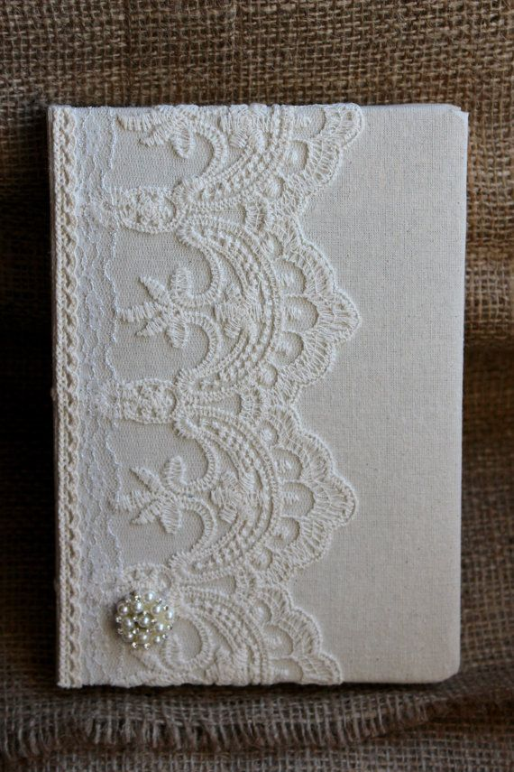 Victorian style lace 2017 diary. Day a page by EnchantedLaceDecor