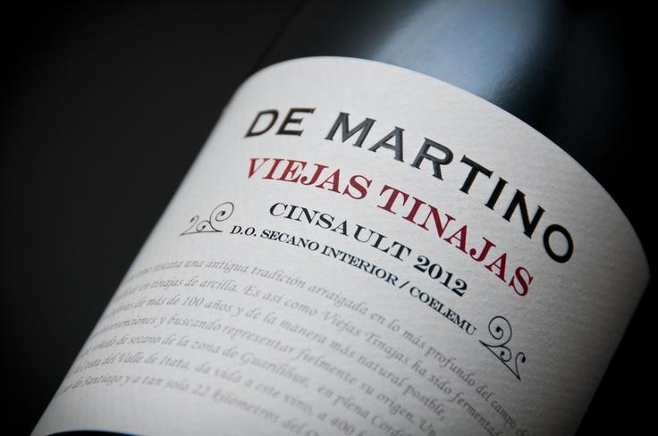 De Martino Viejas Tinajas Cinsault 2012, Valle del Itata