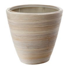 PEKANNÖT 鉢カバー IKEA 内側に防水用のプラスチックの鉢が付いているので、鉢カバーが濡れません