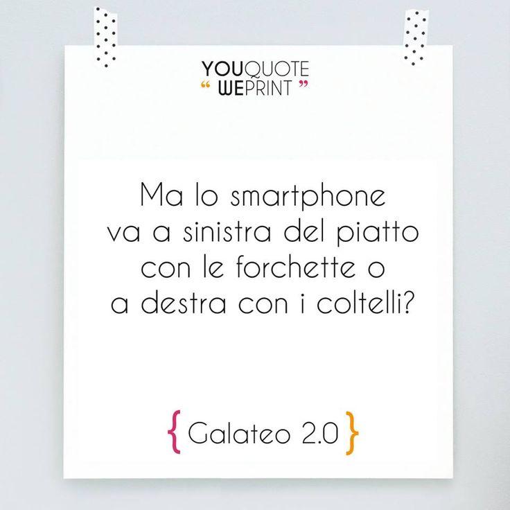 La nuova versione del galateo prevede un intero capitolo dedicato agli smartphone!
