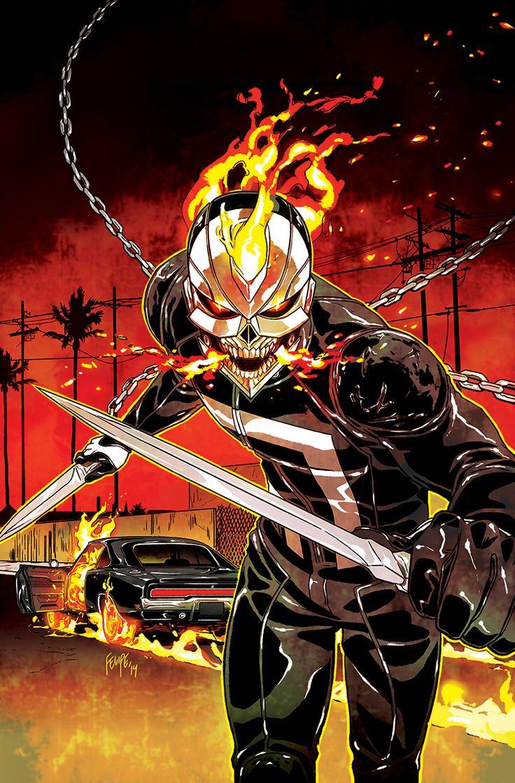 All-New Ghost Rider #3 Cover (Variant) by FelipeSmith.deviantart.com on @deviantART