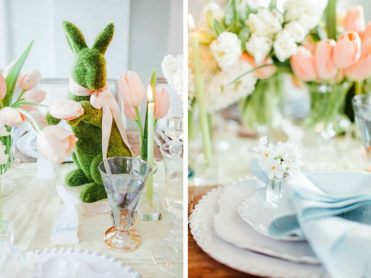 An Elegant Easter Table Setting That's an Ode to Spring | www.essentialhome.eu/blog