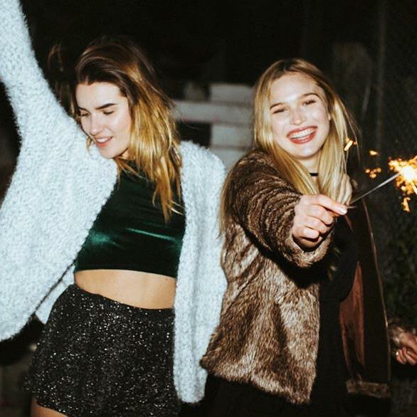 How did you celebrate New Year's Eve?  #subdued #subduedgirls #OOTD #party #nye #mod