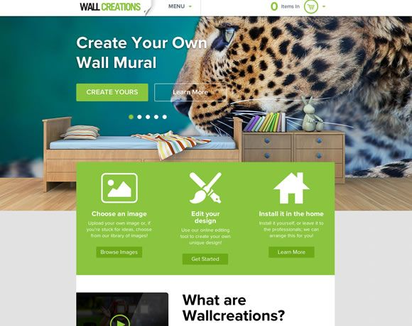 19 Beautiful and Colorful Websites for your Inspiration. Like large picture and sampled color from image.