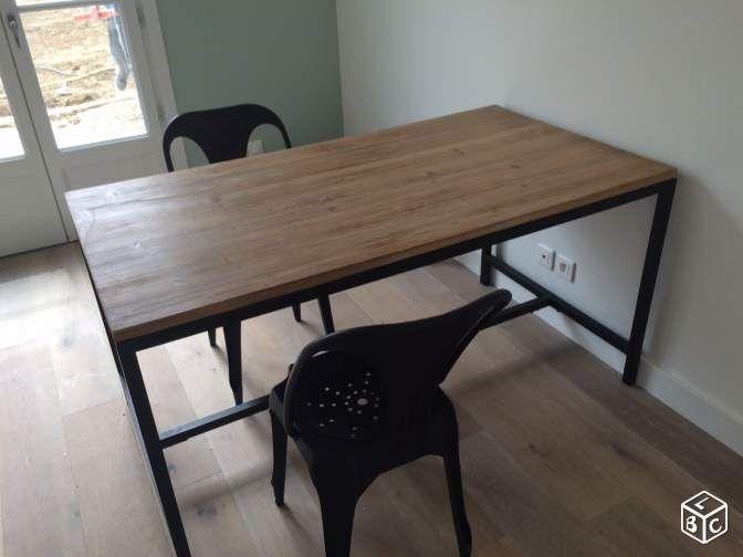 Table à manger LONG ISLAND Maison du Monde L 150cm Ameublement ...