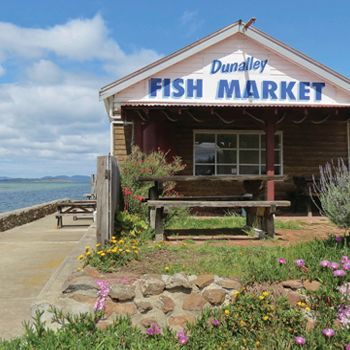 Favourite fish and chips spot in Tassie. Dunalley - Hobart and Beyond
