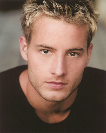 Justin Hartley - don't usually like blondes, but he is HOT!