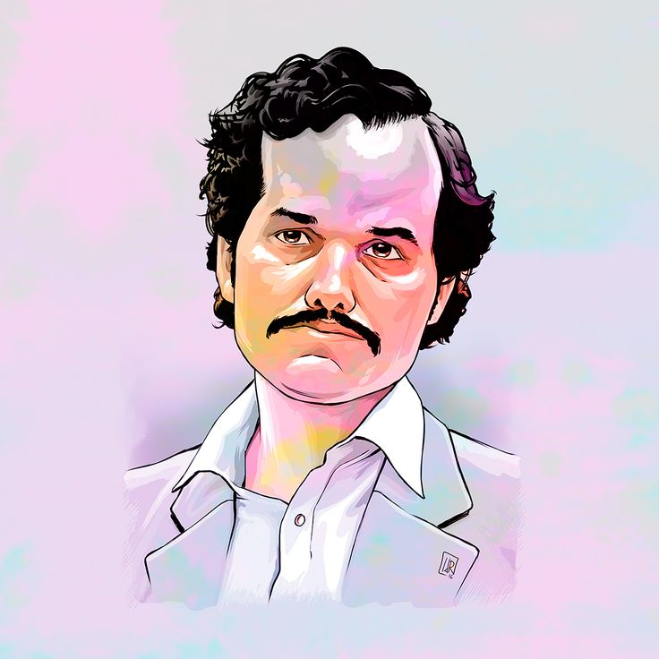 Wagner Moura as Pablo Escobar (by IvandelRio)