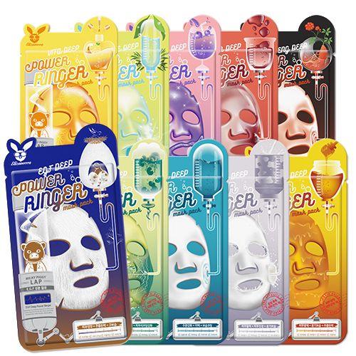 [엘리자베카 [Elizavecca]] <b>10 type , mask pack</b><br>Since the humidity high coercive of the skin to wrinkle whitening functionality authentication mask pack !<br>1 day 1 pack you are using to choose for each day of the week !