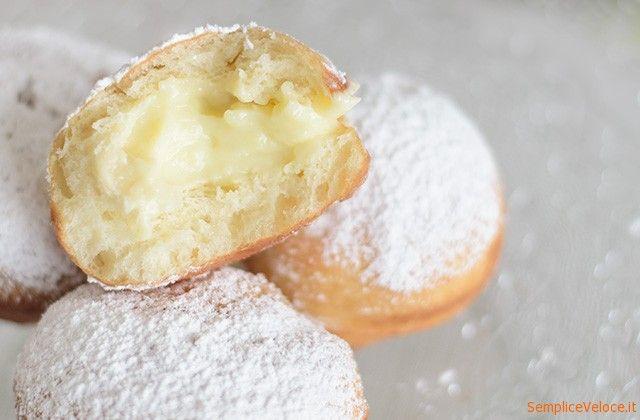 Krapfen o bomboloni fritti: i krapfen sono dolci fritti di origine austriaca, diffusi nelle zone di confine anche in Italia.