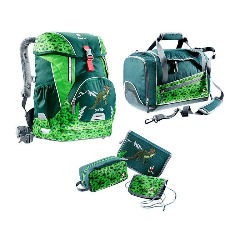 Deuter Schulrucksack Set 5tlg OneTwo Hopper Forest Dino #Schulranzen #Ranzen #Schulanfang #Einschulung #Dino