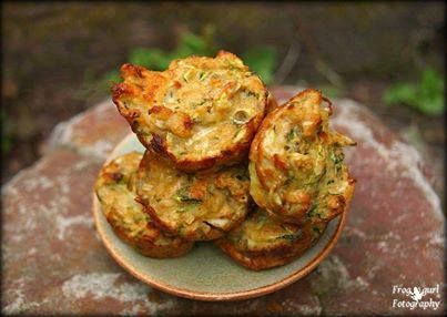Mini Zucchini Cheese Bites  The zucchini is grated so only some of the green skin is noticeable. You can opt to leave out the cilantro .These are crispy on the outside and soft on the inside. Super…
