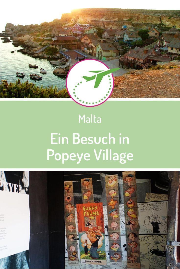 Popeye Village Besuch Der Filmkulisse In Anchor Bay Auf Malta Reisen Reiseziele Reisen In Europa