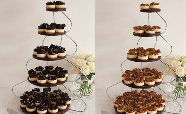 Mini Luxury Cheesecakes by the English Cheesecake Company for your Wedding Day | OMG I'm Getting Married UK Wedding Blog | UK Wedding Design and Inspiration for the fabulous and fashion forward bride to be.