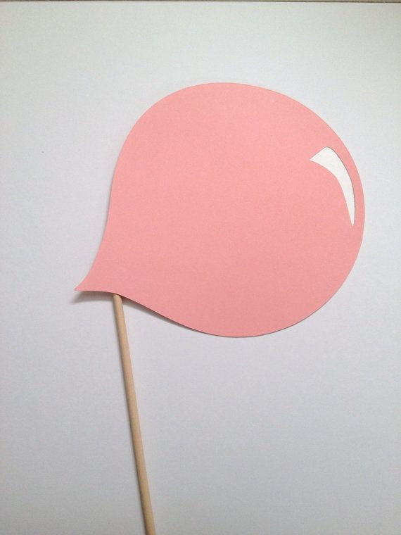Bubble Blowing Photo Booth Prop by CleverMarten on Etsy, $4.00