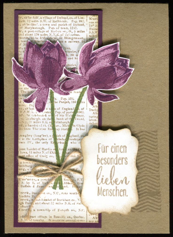 1072 Lotusblüten, Stampin'Up!, so froh, Tape it, Dictionary, Sale-a-bration 2015