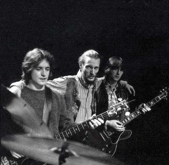Cream: Jack Bruce, Ginger Baker & Eric Clapton