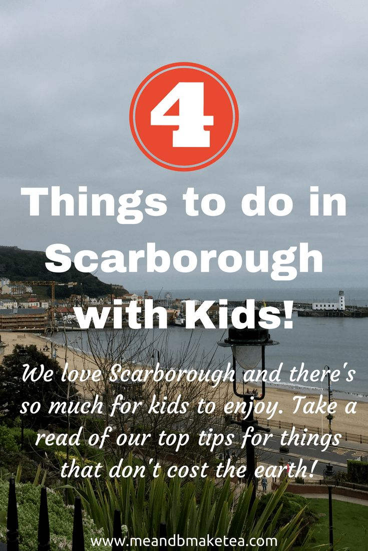 4 things to do in Scarborough with kids! If you haven't been to Scarborough and are up that way, I recommend it I'd always bypassed Scarborough, preferring Whitby for its cobbled streets and gothic charm. That was a mistake because I find Scarborough equally charming. Now we have little b, Scarborough is perfect for whiling away a few hours, or even the whole day! And you don't need to spend an awful lot either.