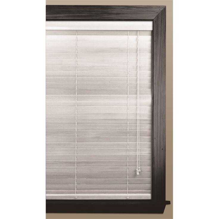 Windoware Timber Venetian Blind 35x1200x1370mm White Birch
