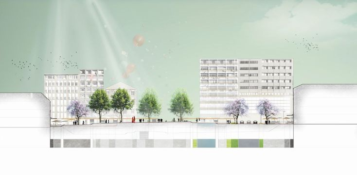 Gallery of Re-Think Athens Winning Proposal / OKRA - 17