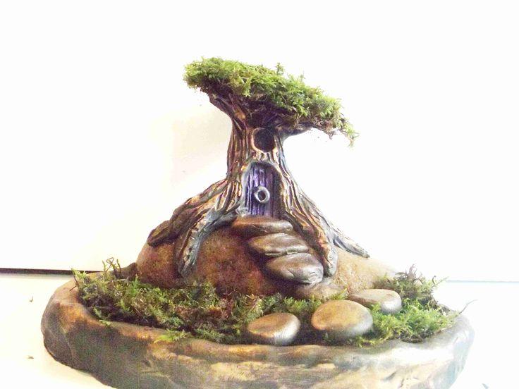 Best 25 fairy tree houses ideas on pinterest little for Magic cabin tree fort kit