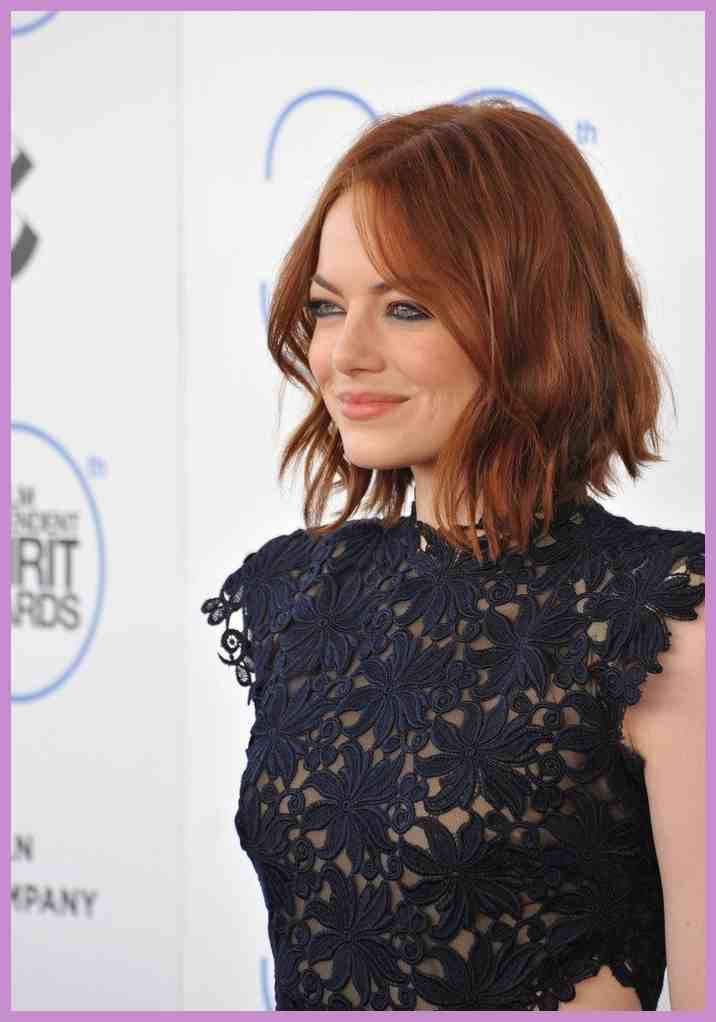 Emma Stone Frisuren Frisuren Magazin T75 Chaotische Bob Frisuren Bob Frisur Bob Haare