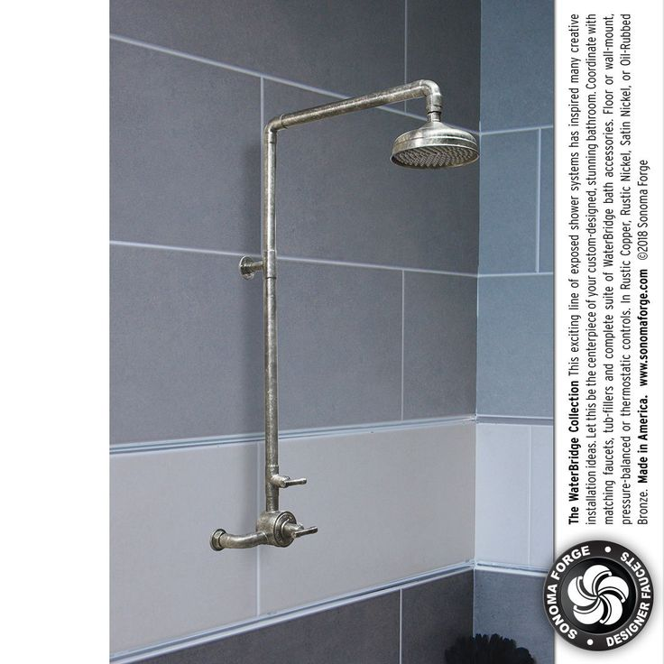 173 best WaterBridge Exposed Shower Systems images on Pinterest