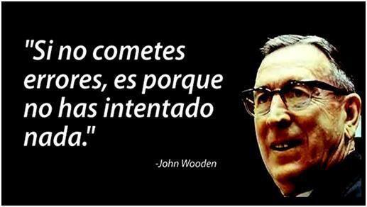 #SiNoCometesErrores #John #Wooden