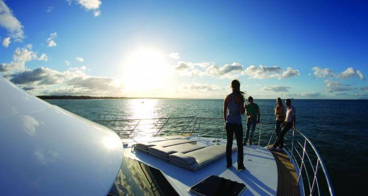 A luxury cruise adventure on holiday in New Zealand