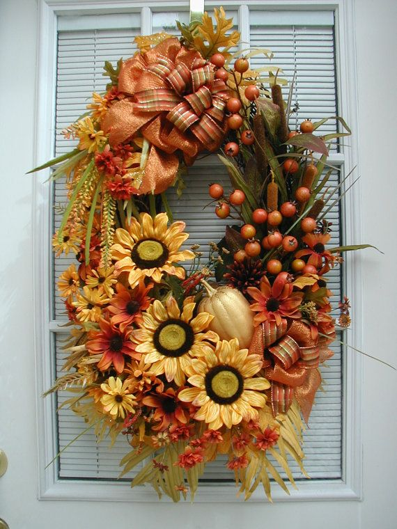 36 Best Petalsnpicks Wreaths Images On Pinterest Front