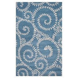 Carrie Rug in Ocean Blue
