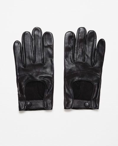 Image 1 of LEATHER DRIVING GLOVES from Zara