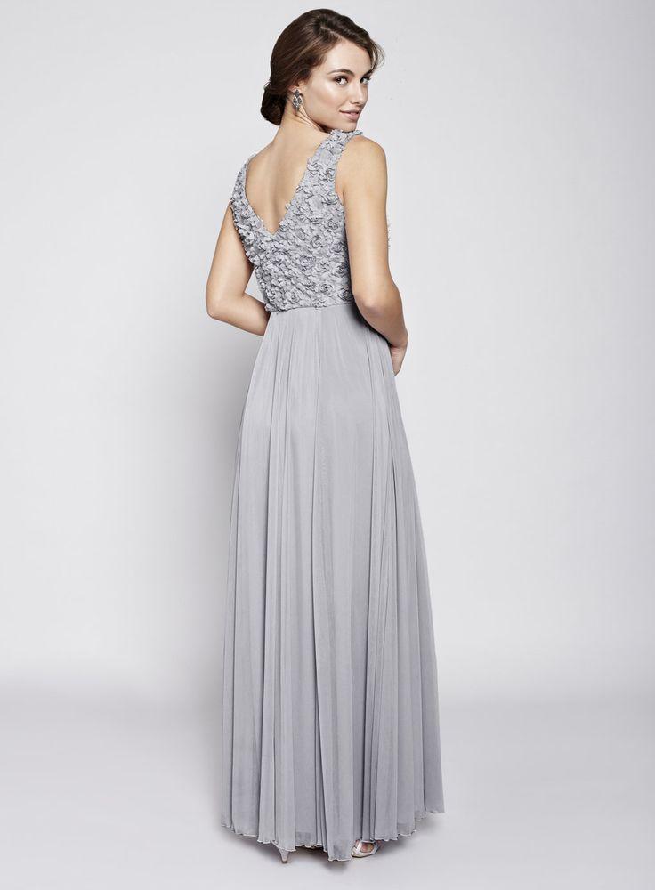 bridesmaid-dress-grey