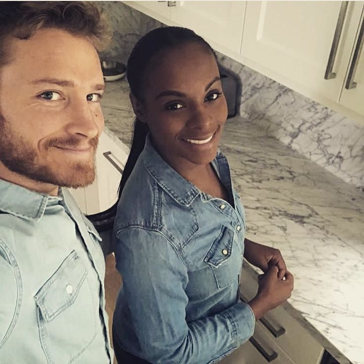Actress Tika Sumpter and her fiance Nicholas James