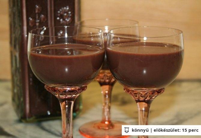 Csokilikőr Vicikó konyhájából