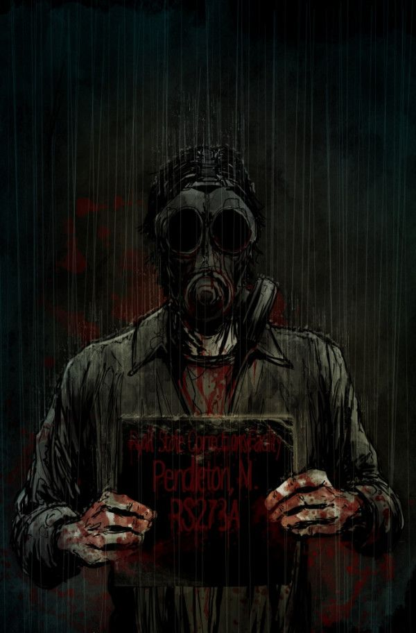 "Silent Hill Downpour - Murphy Pendleton - Artwork by Tristan ""T-Rex"" Jones."