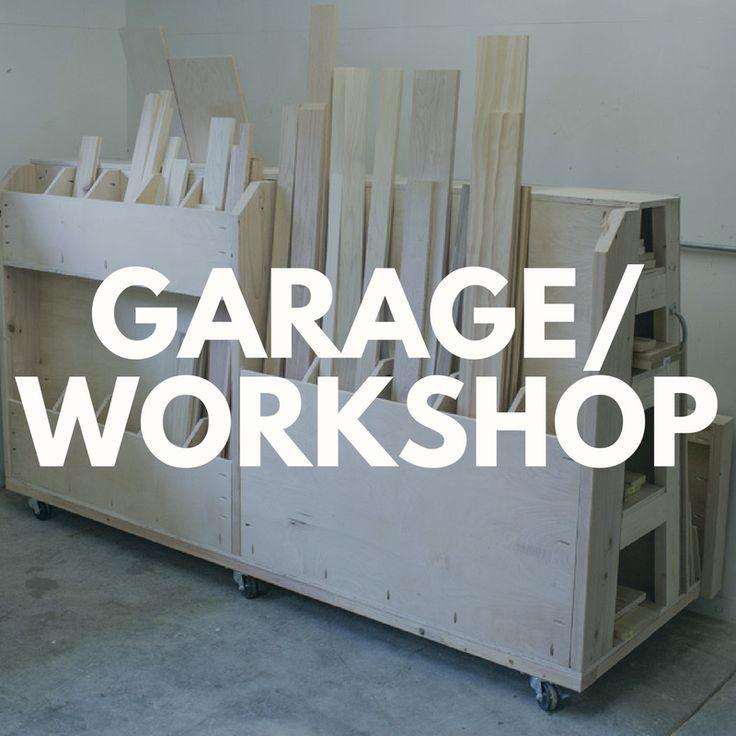 DIY Project Ideas for the Garage u0026